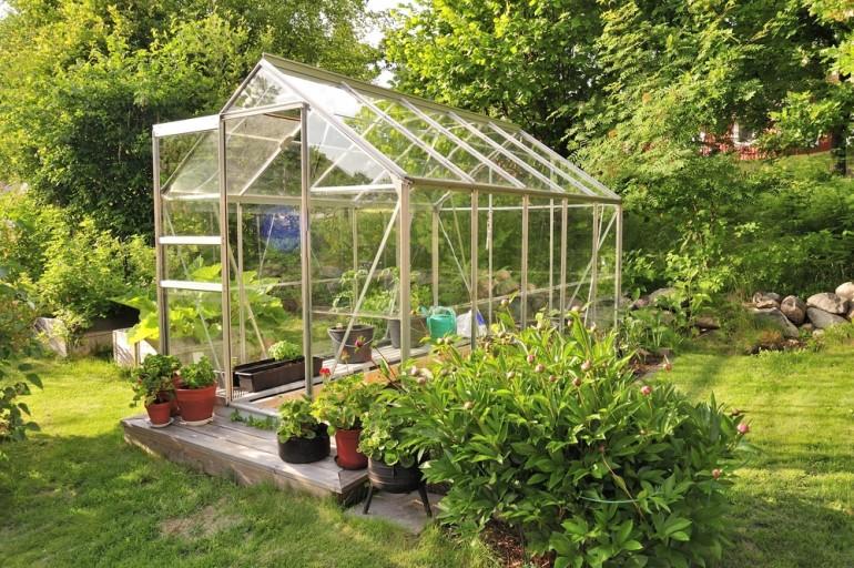Acquérir une serre de jardin