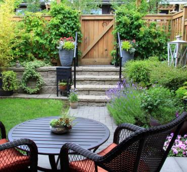 Créer une impression d'espace avec un petit jardin