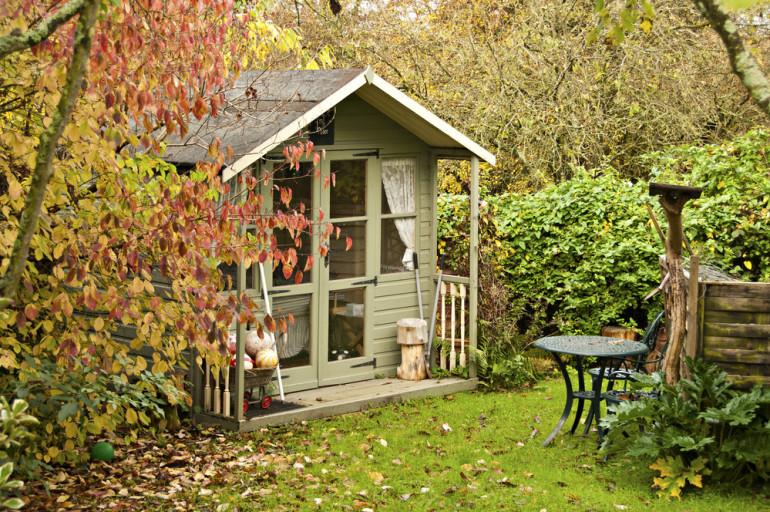 Aménager un abri de jardin
