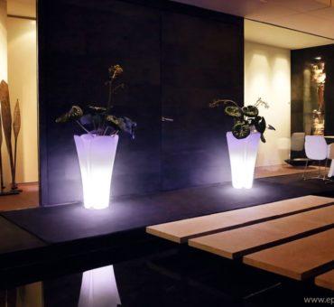 Les pots lumineux: la nouvelle tendance dans les jardins