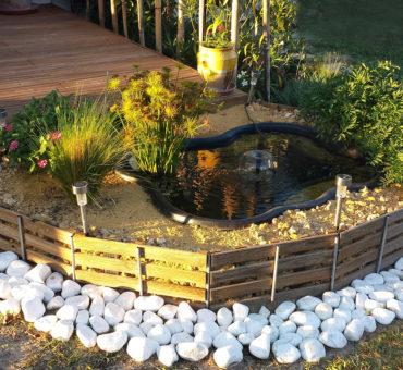 Opter pour un mini-bassin d'ornement