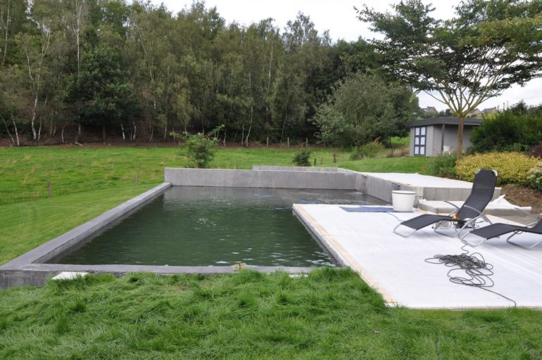 L'aménagement d'une piscine naturelle